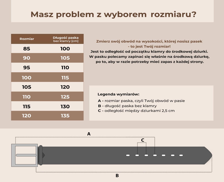 tabela-wymiarow-paskow-LIC-DW-35-40-do-120-7-dziurek